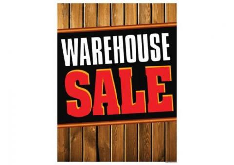 Warehouse Sale - Baskets, Craft Supplies, & More!
